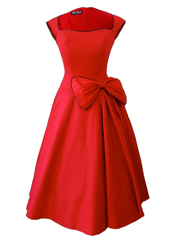 Retro de 1950s en voladizo estilo e instrucciones para hacer vestidos: Amazon.es: Ropa y accesorios