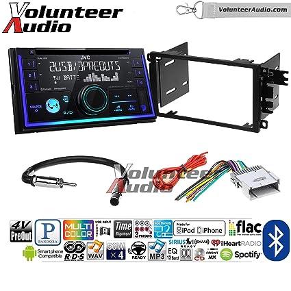 Amazon com: Volunteer Audio JVC KW-R935BTS Double Din Radio
