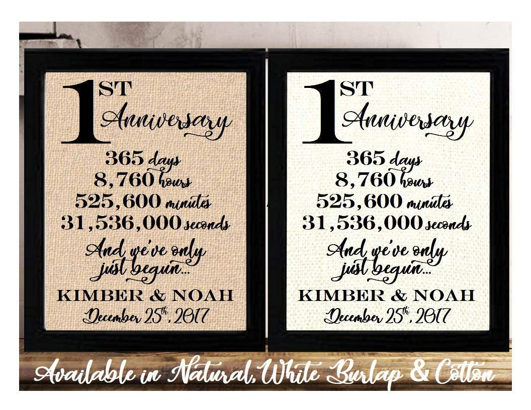 Amazon Com Framed 8x10 Personalized 1st Anniversary 1 Year Together 1 Year Of Marriage 1st Wedding Anniversary For Her Or Him 1st Anniversary Gifts For Couple 1 Year Anniversary First Anniversary Gifts Handmade