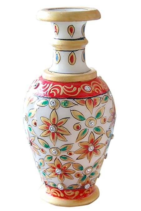 Amazon Alabaster Marble Marble Vase Hand Painted Flower Pot