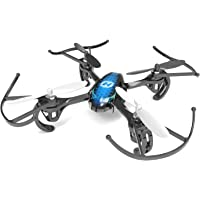 Holy Stone DEERC170 Predator Mini RC Quadcopter Drone 2.4Ghz 6 Axis Gyro R/C Serie 4 Channels RTF Helicopter HS170 Best Choice for Kids and Beginners, Blue