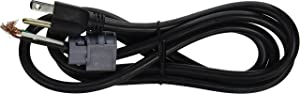 General Electric WX09X70910 Universal Dishwasher Power Cord, 5-Feet, 4-Inch