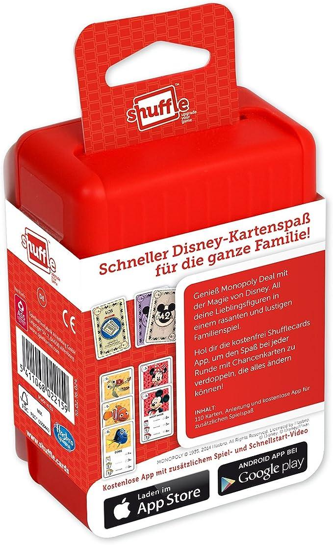 ASS Culo Altenburger 22502215 - Shuffle - Juego de Cartas Disney Cantidad De Monopolio: Amazon.es: Juguetes y juegos