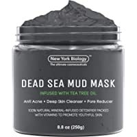 New York Biology Dead Sea Mud Mask for Face and Body Infused with Tea Tree - Spa...