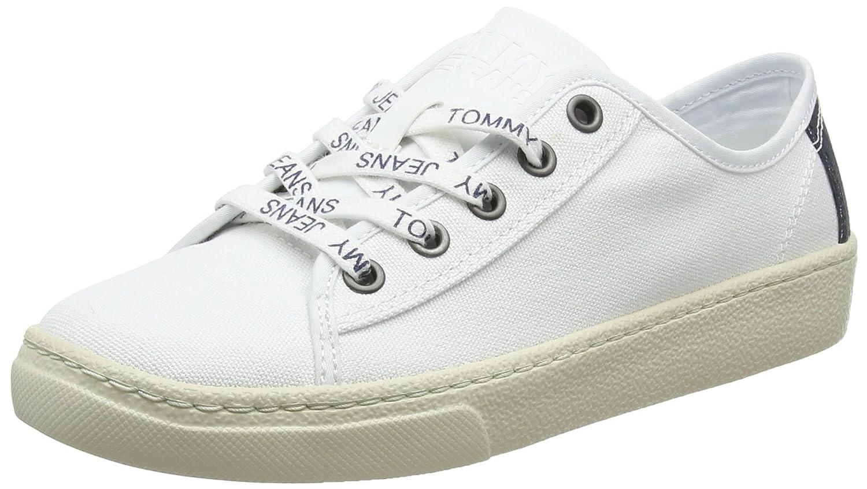 Hilfiger Denim Damen Tommy Jeans Light Textile Low Turnschuhe    c5e569