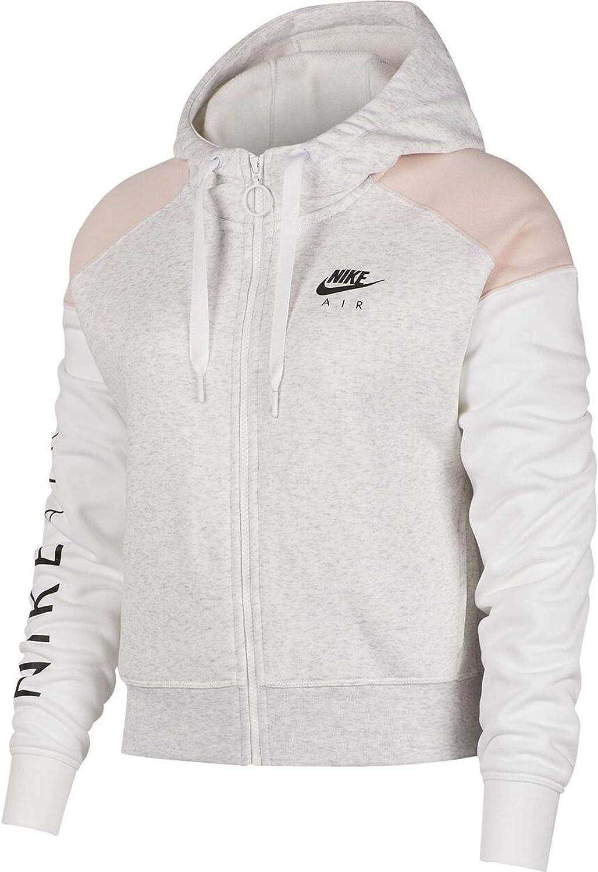 Nike NSW Air Hoodie FZ BB Hoodie Femme Birch HeatherEcho