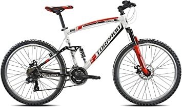 Torpado bicicleta MTB Full Suv99, llantas de 26