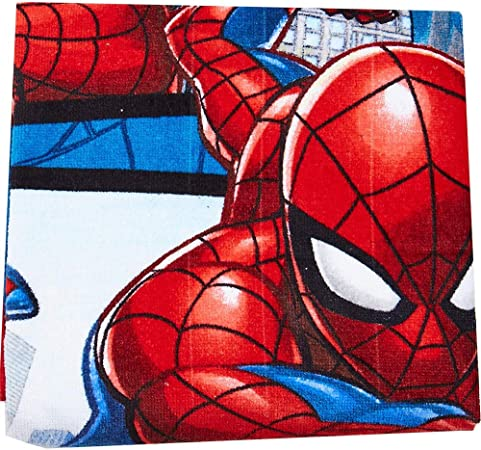 70 x 140 cm // 100/% Algodon Spiderman 2454140031 mv92259 Toalla Infantil Motivo de