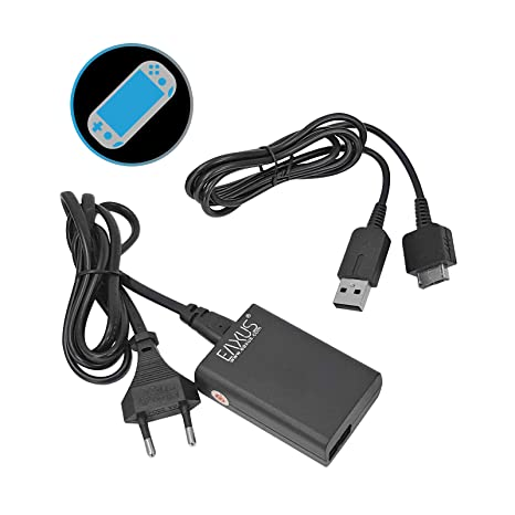 Eaxus®️ Cargador USB PlayStation Vita - Cable de carga de 1 ...