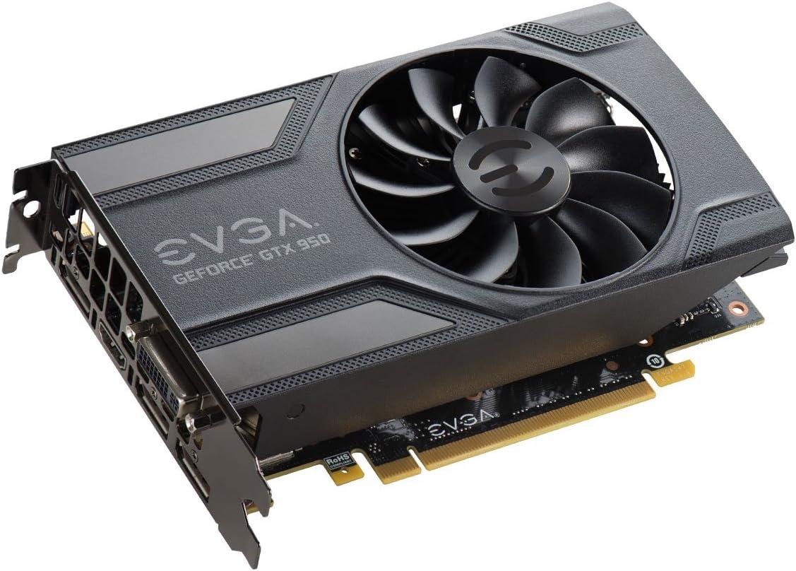 EVGA GeForce GTX 950 2GB SC Gaming, Silent Cooling Graphics Card 02G-P4-2951-KR