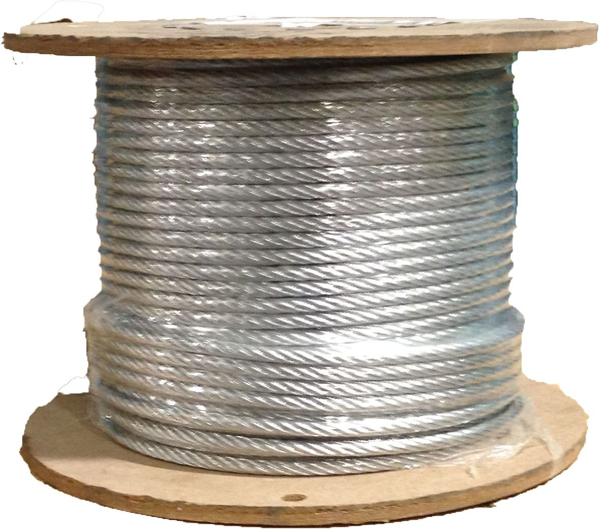 1/8 7x19 Stainless Steel Aircraft Wire Rope Cable T304 500' Reel
