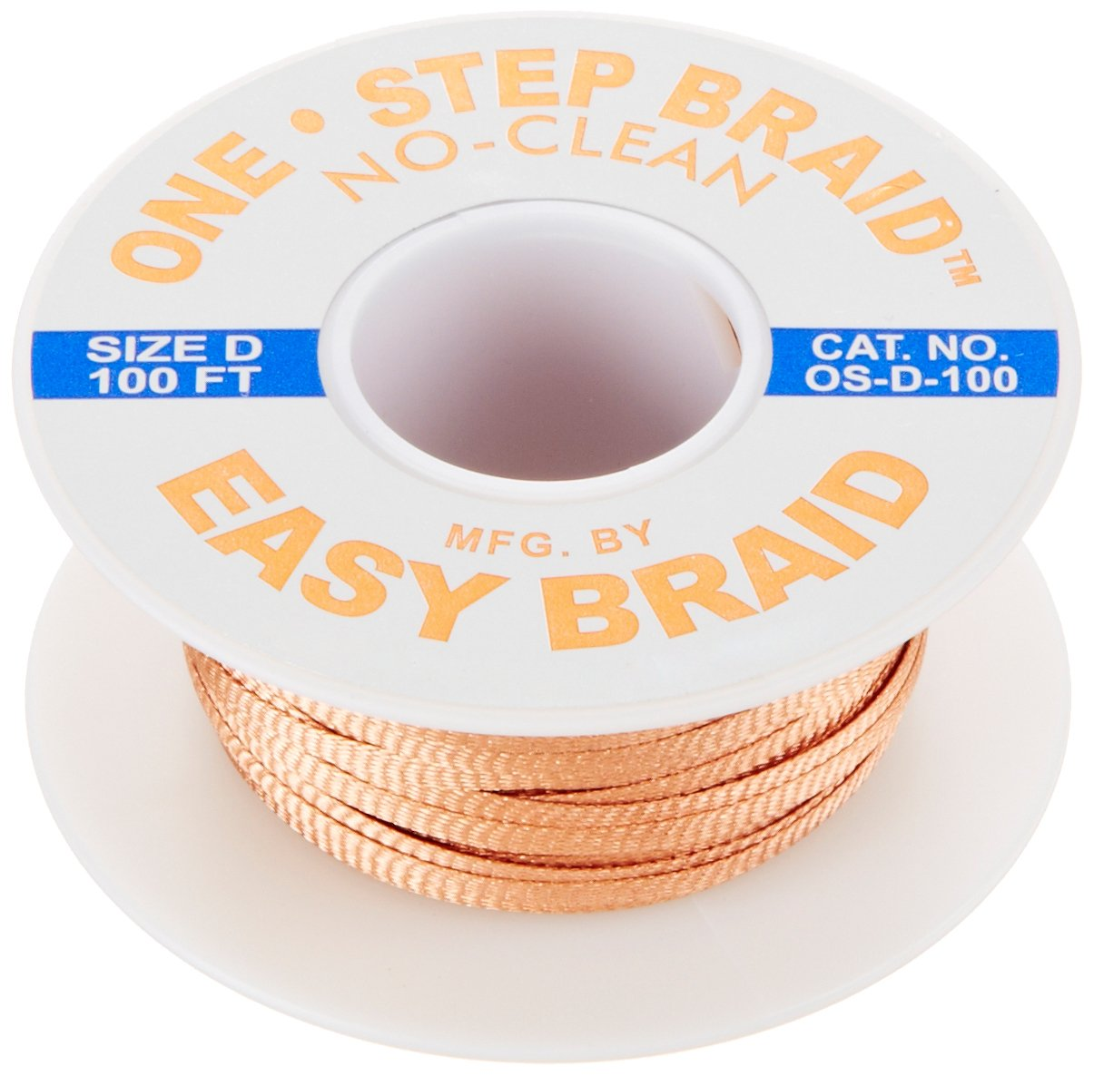 easybraid os-d-100 One-Step desoldar mecha, no limpia, 0,1