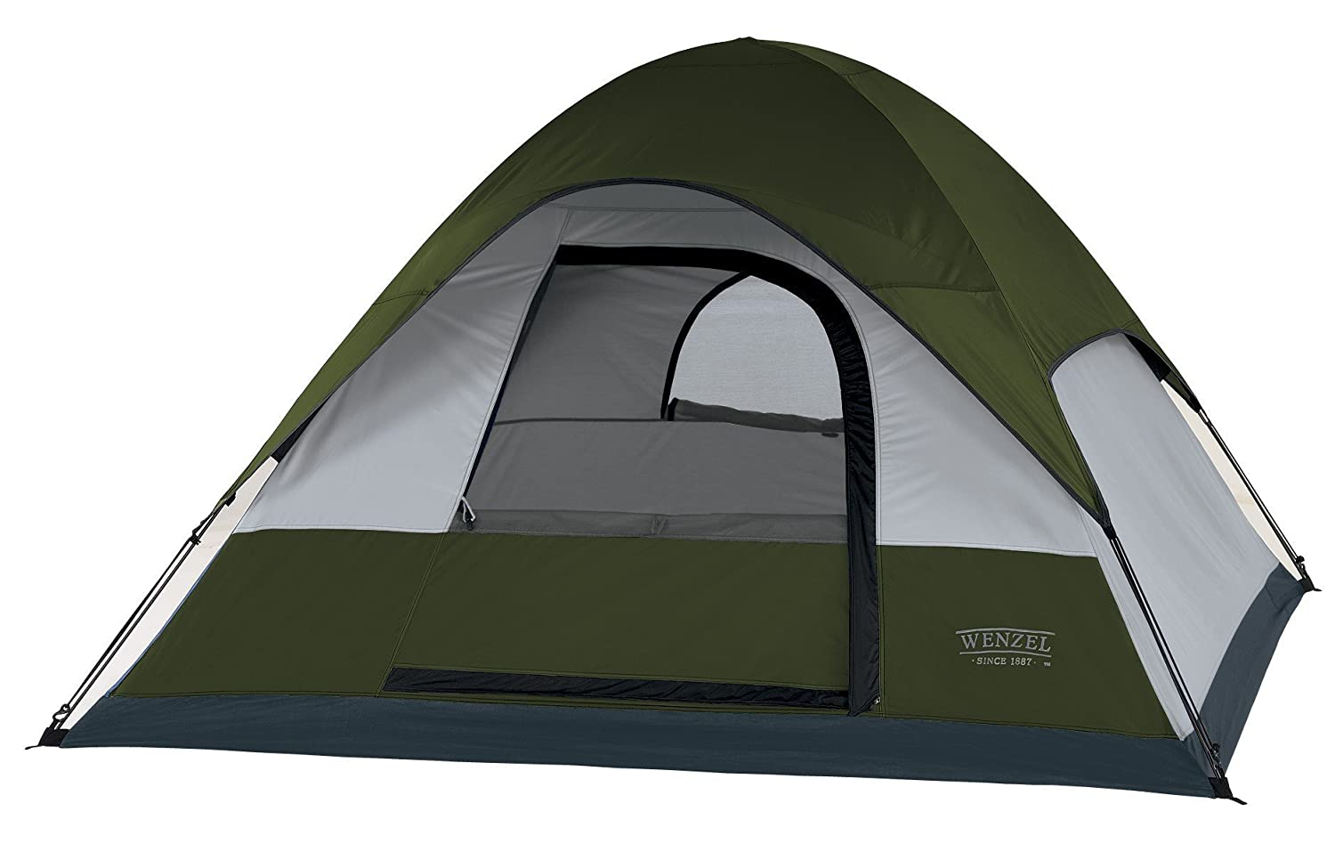 Amazon.com  Wenzel Pinon Sport 7-by 7-Foot Three-Person Dome Tent  Sports u0026 Outdoors  sc 1 st  Amazon.com & Amazon.com : Wenzel Pinon Sport 7-by 7-Foot Three-Person Dome Tent ...