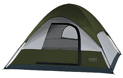 cad458474fa Amazon.com   Wenzel Pinon Sport 7-by 7-Foot Three-Person Dome Tent ...