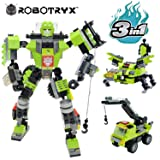 JITTERYGIT Robot STEM Toy | 3 in 1 Fun Creative Set | Construction Building Toys for Boys and Girls Ages 6-14 Years Old | Best Toy Gift for Kids | Free Poster Kit Included