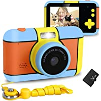 XDDIAS Cámara de Fotos para Niños, Infantil Cámara Digital con 32GB Tarjeta de Memoria y Pantalla de 2.4 Pulgadas…