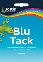 Blu Tack 50g Reusable Removable Sticky - Pack of 2
