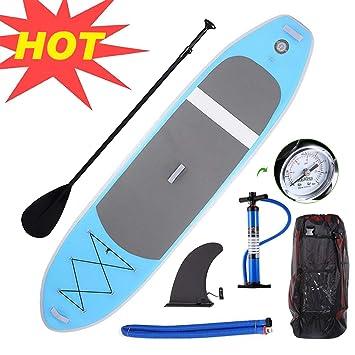 Miageek - Tabla de Surf Hinchable de 3 m con Pala Ajustable ...