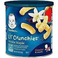 Gerber Lil' Crunchies, Vanilla Maple, 1.48 oz