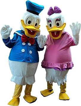 Happy Shop - Disfraz de Pato y Margarita de Donald de la UE para ...