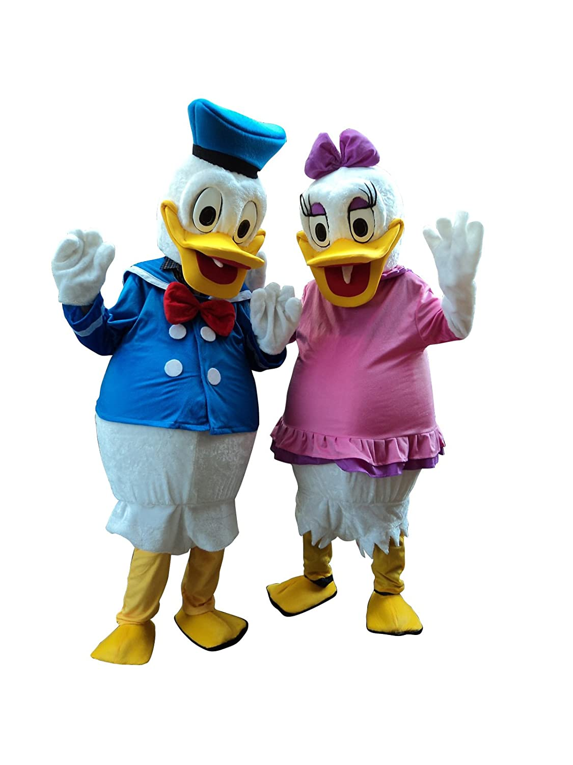 Amazon.com: Pato Donald y Daisy Duck adulto disfraz Cosplay ...