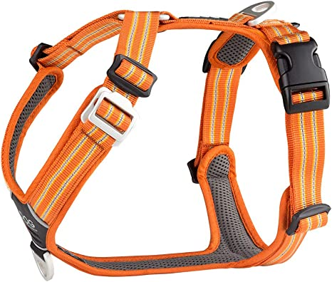 DOG Copenhagen Comfort Walk Air Harness Orange Sun WH-OS Talla M ...