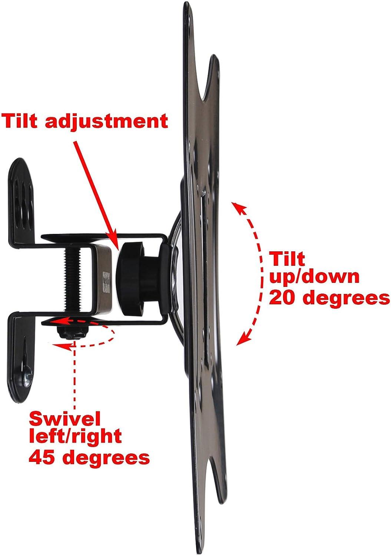 """Tilt Swivel TV Wall Mount for Sceptre 22 23 24 27 32 39/"""" LED LCD P405BV-FHDR BTK"""