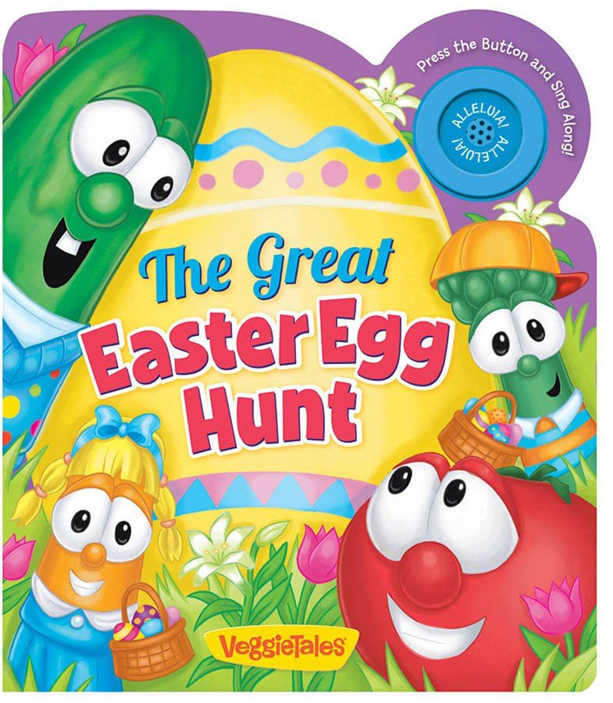 Amazon.com: The Great Easter Egg Hunt (A VeggieTales Book) (9780824919283):  Melinda Rumbaugh, Greg Fritz, Lisa Reed, Aruna Rangarajan: Books