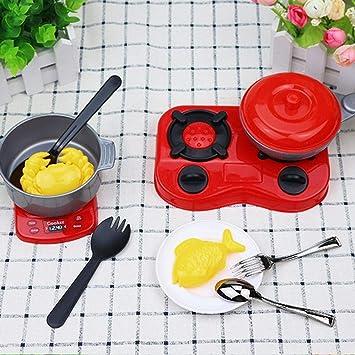 Wekold Juego de Cocina de 13 Piezas con Diversos Accesorios, Utensilios de Cocina, Utensilios de Cocina y vajilla Cuchillos de Tenedor para cocinar