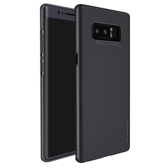 the latest 2f1f9 6d526 Galaxy Note 8 Case,Note 8 Back Cover Case,Mangix Heat Dissipation Exact-Fit  Premium Matte Finish Hard Back Cover Case for Samsung Galaxy Note 8 ...