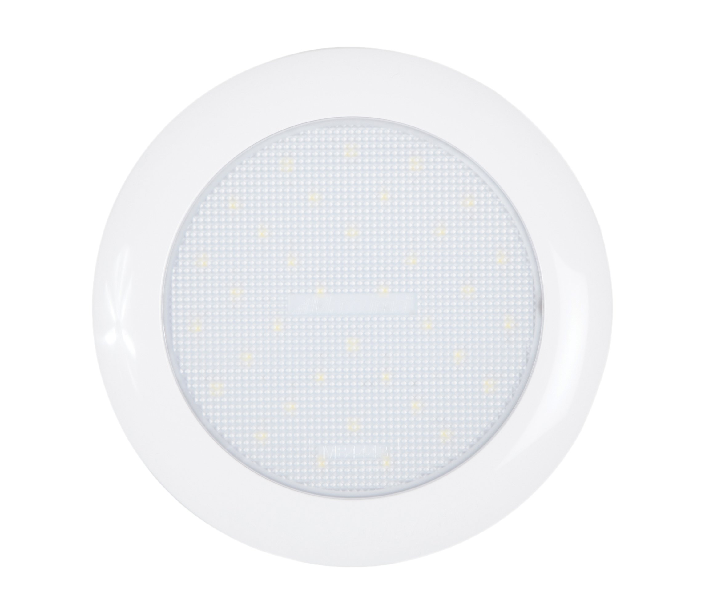 Maxxima M84442 White 5.50'' 320 Lumens 27-LEDs Round Low Profile Interior Courtesy Dome Light by Maxxima