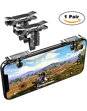 Mobile Game Controller, YOUNI Cell Phone Game Triggers - Sensitive Shoot and Aim Buttons Shooter