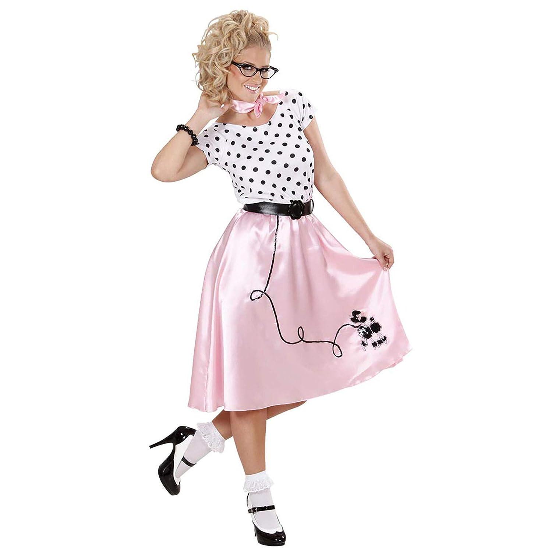 WIDMANN All4Yourparty - Disfraz de Grease para mujer, talla M (S ...