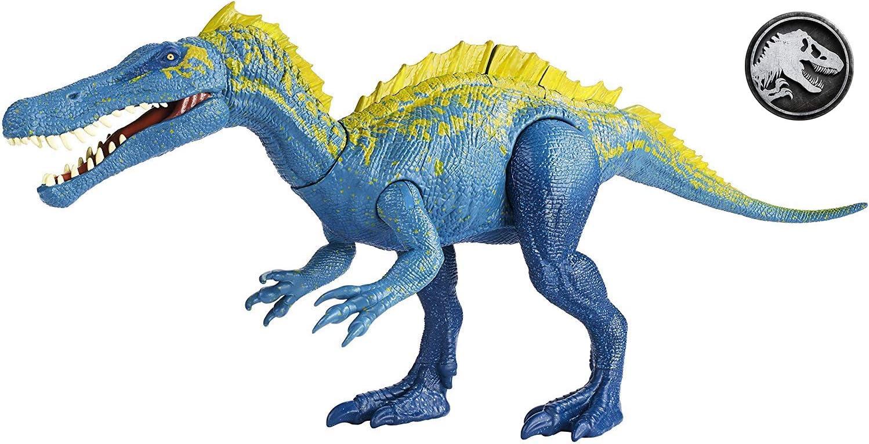 NEW HUGE Jurassic World Mosasaurus Dinosaur Real Feel Mattel UK FAST DEL FNG24