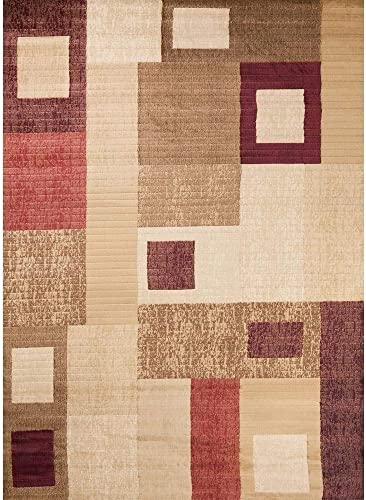 Concord Global Trading Concord Global Soho Modular Area Rug Ivory Beige