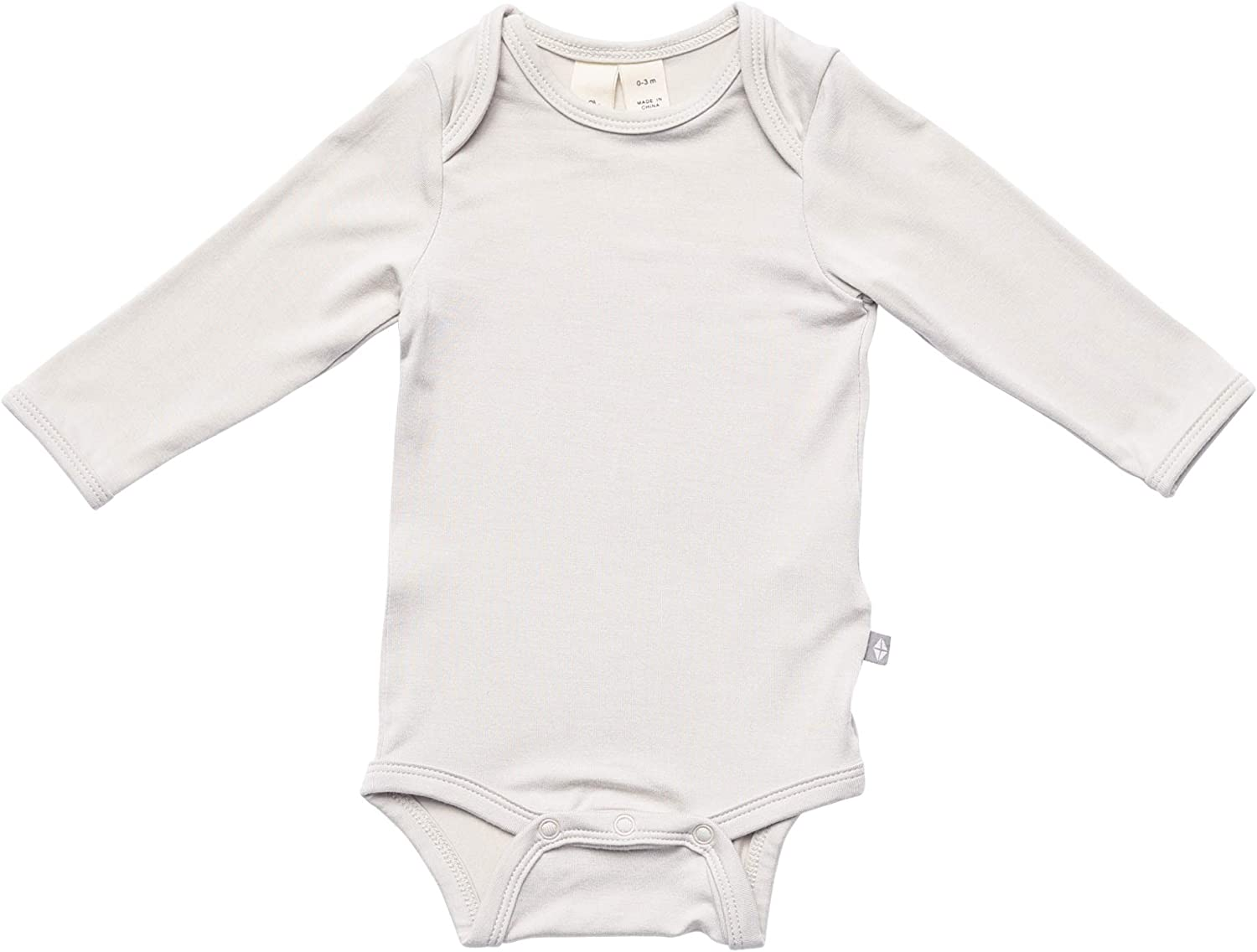 0-24 Months KYTE BABY Soft Bamboo Rayon Rompers Zipper Closure