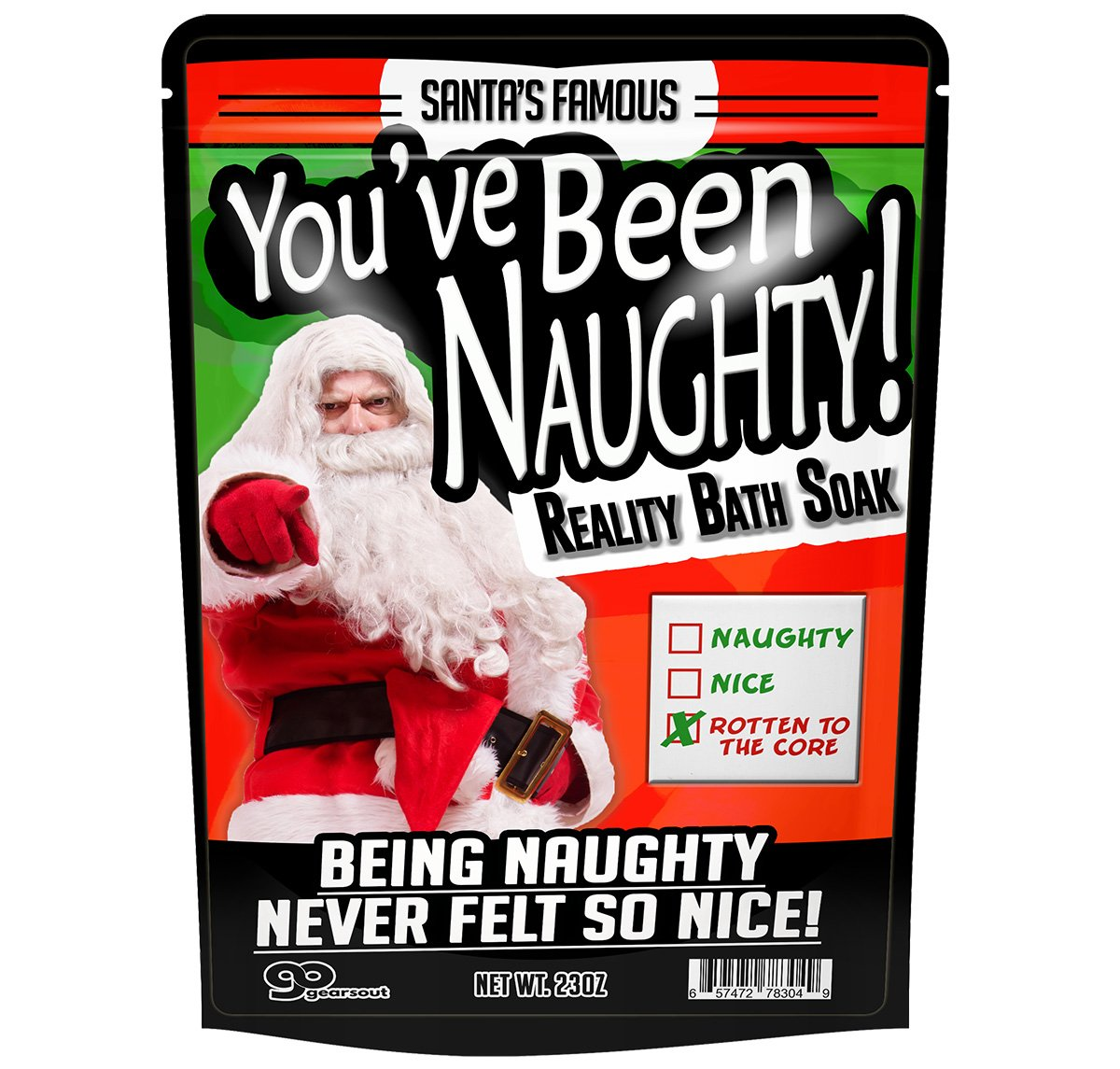 Cute Christmas Gifts For Friends.Buy You Ve Been Naughty Bath Soak Funny Santa Bath Salts