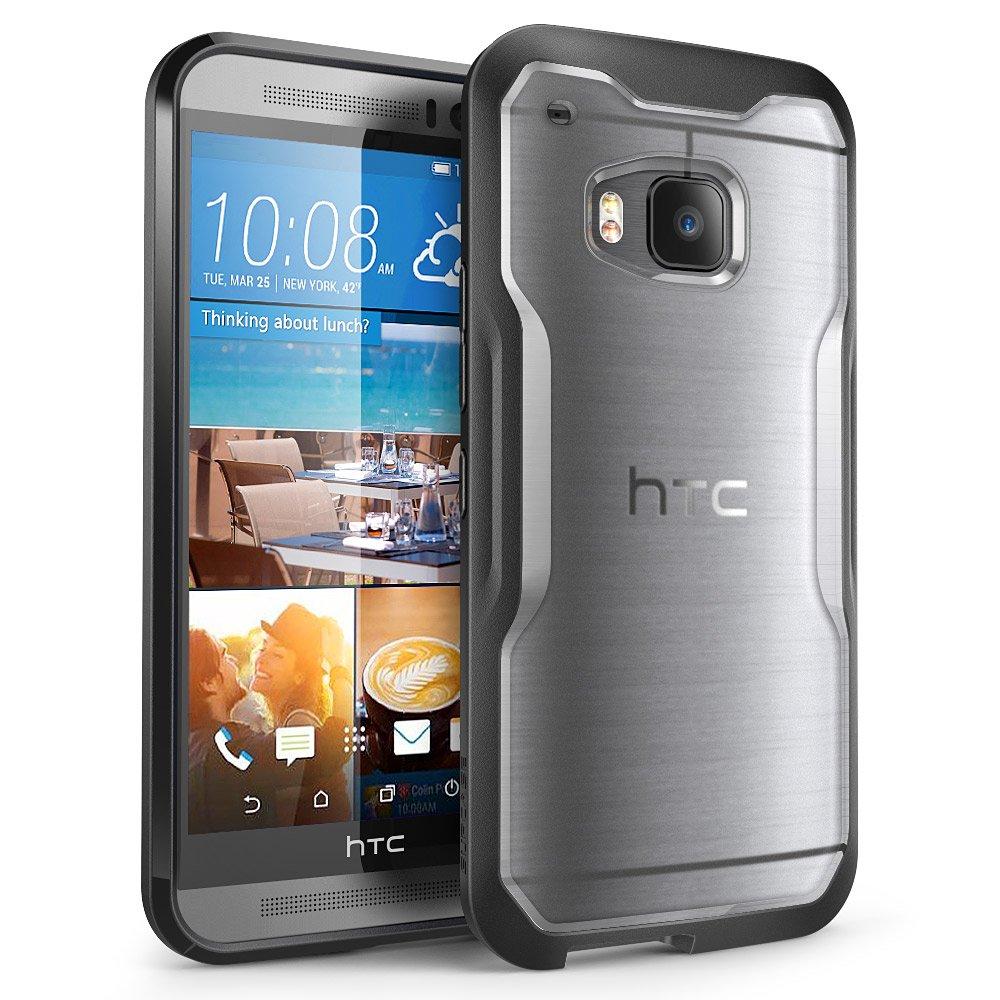 Cover per HTC One M9, SUPCASE Unicorn Beetle Serie Premium custodia ibrida protettiva trasparente pe...