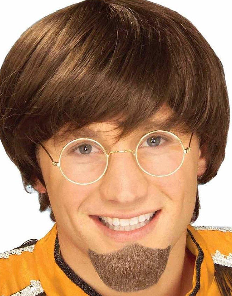 Forum Novelties Men's Human Hair Goatee Beard Brown One Size Forum Novelties Costumes 59856