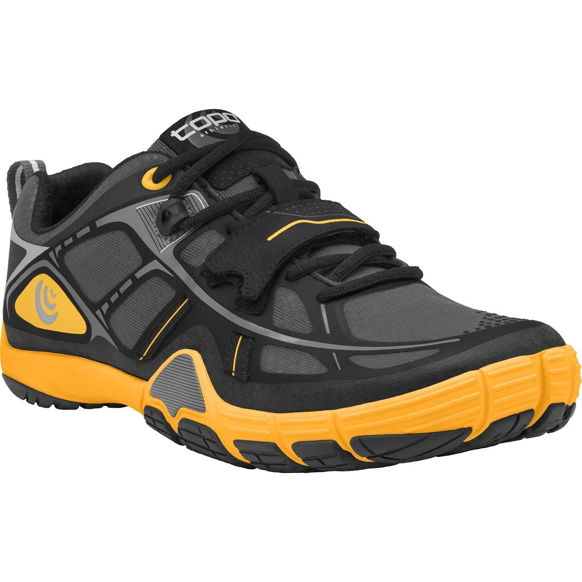 Topo Athletic Fli-Lyte Running Shoe - Men's B00TQ6MF5C 11 D(M) US Charcoal/Mango