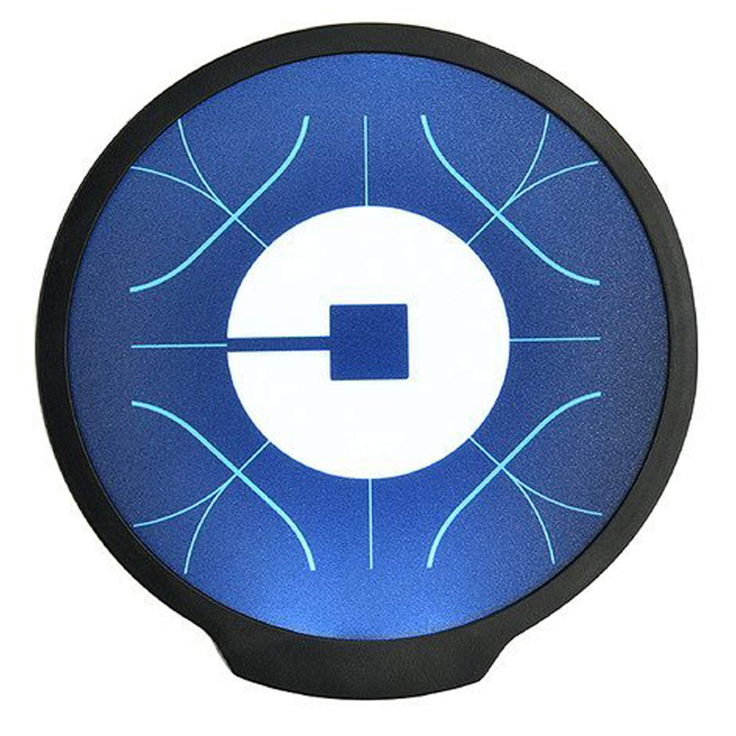 Uber Sign, LED Logo Light Sticker Glow Decal Accessories Removable,Uber Glowing Signs for Car Taxi Driver, Uber Lyft Light up Dry Battery Power