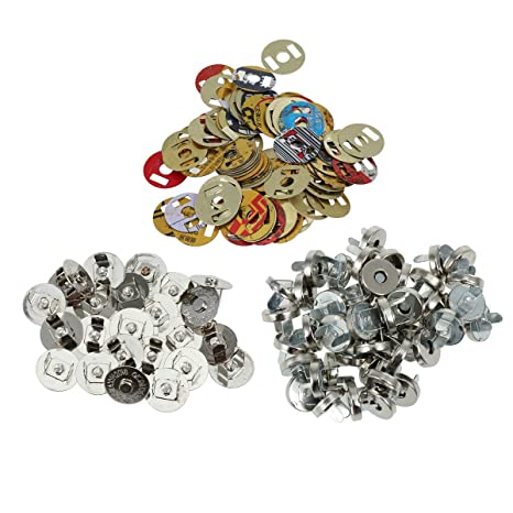 Suvox - Cierre magnético para Coser, artesanía, monederos ...