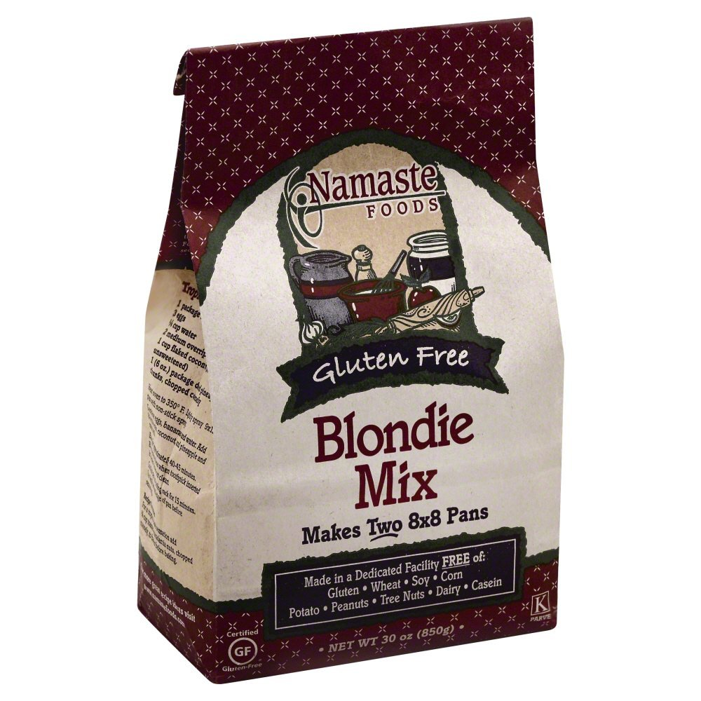 Namaste Foods Blondies 30.0 OZ (Pack of 12)