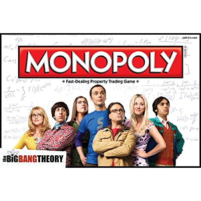 The Big Bang Theory Monopoly: Game: Toys & Games