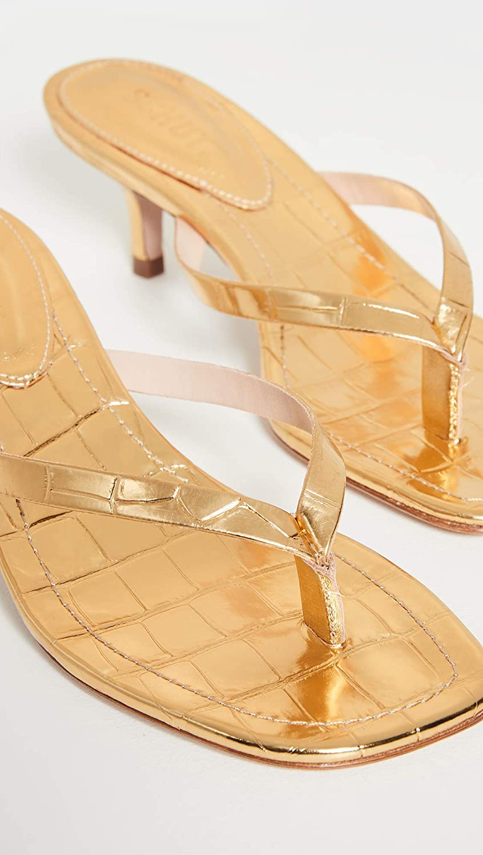 SCHUTZ Womens Ivone Flip Flops