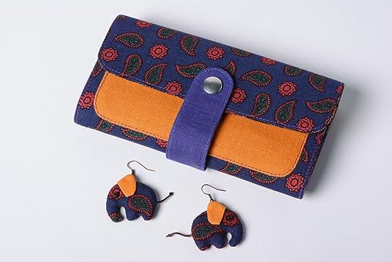Conjunto de accesorios para mujer billetera de tela y ...