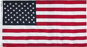 America's Flag Company 58311000II-R American Flag, 5'X8', Multi color