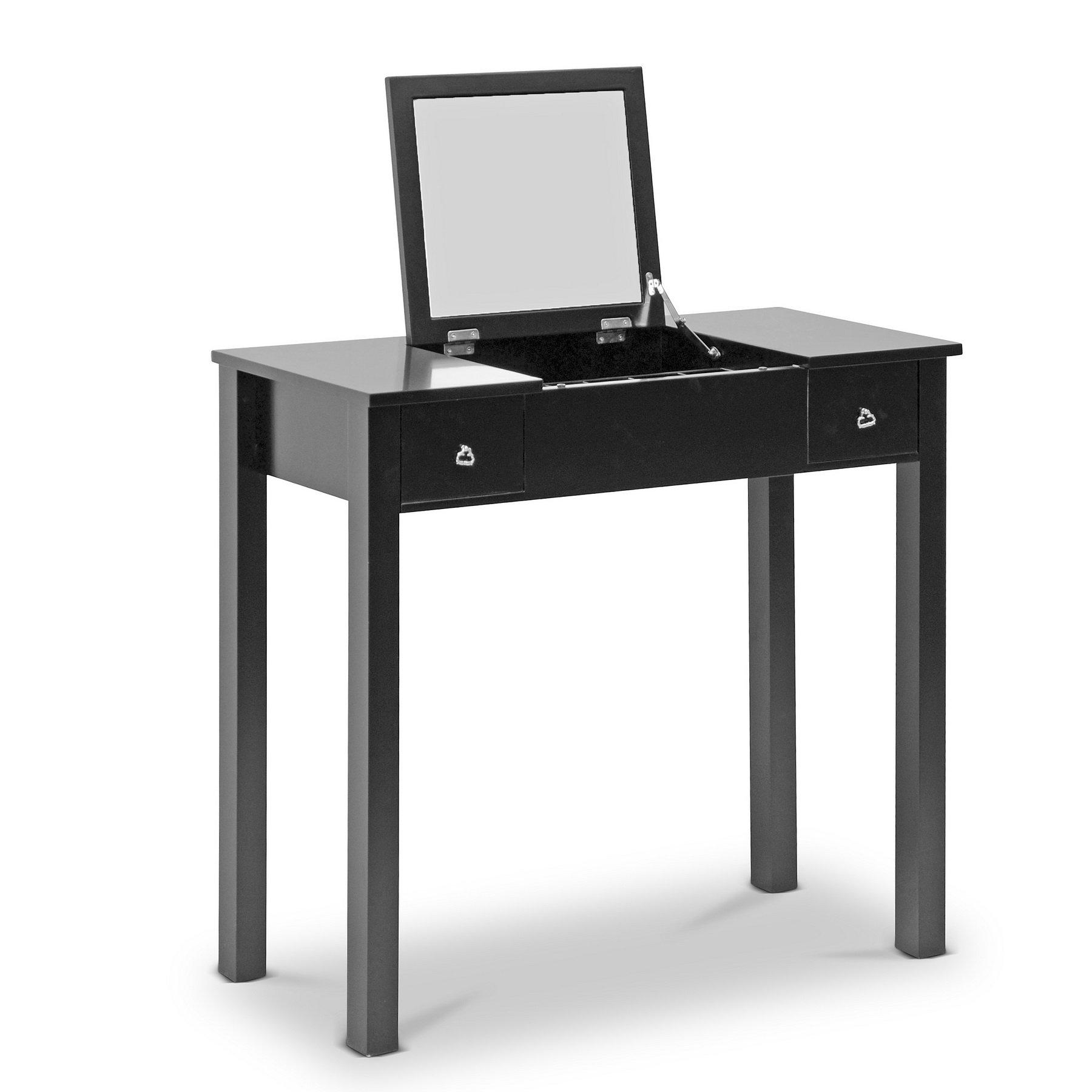 Baxton Studio Wessex Vanity Table, Black