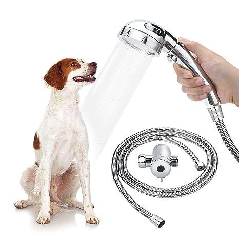 Amazon Com Star Factory Pet Dog Shower Sprayer Attachment For Pet