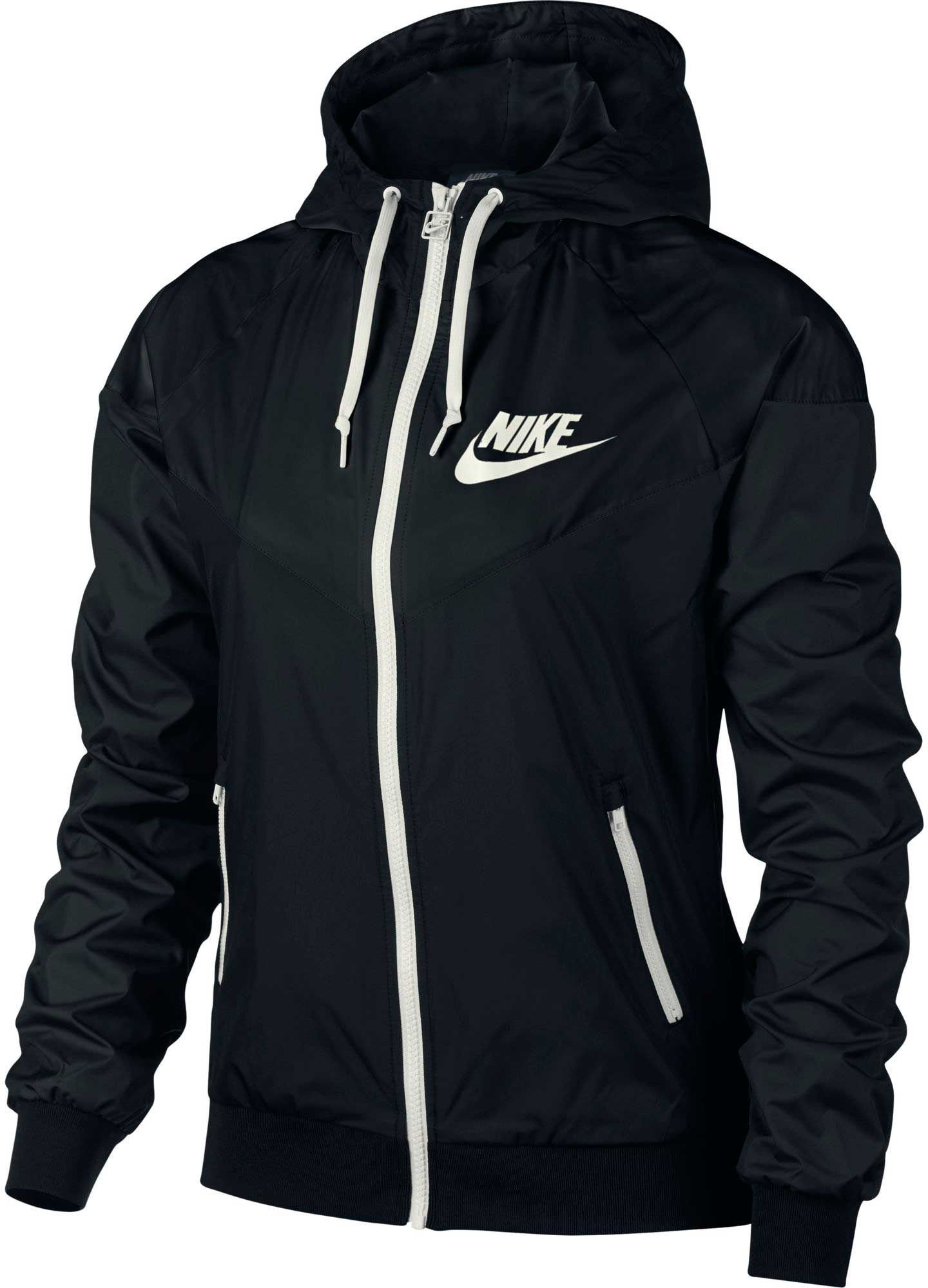 Nike Women's Sportswear Original Windrunner Jacket (Black, L)